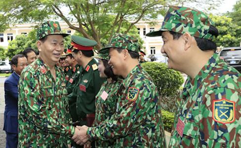Chủ tịch nước đề nghị quân đội tham gia vô hiệu các hoạt động chống phá