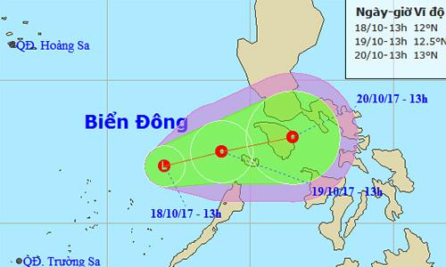 Biển Đông xuất hiện vùng áp thấp, Nam Bộ mưa lớn