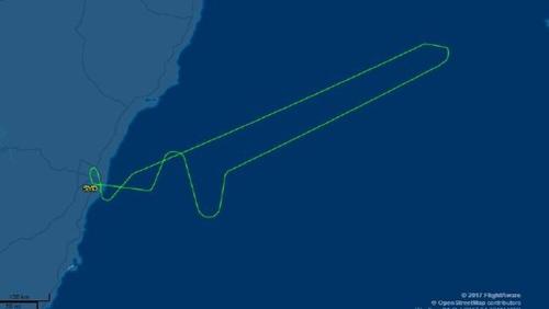 Đường bay của QF