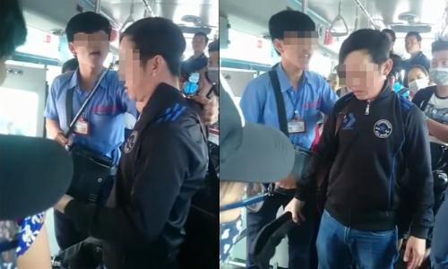 Bị quấy rối trên xe buýt ở Sài Gòn, gọi tổng đài 1022