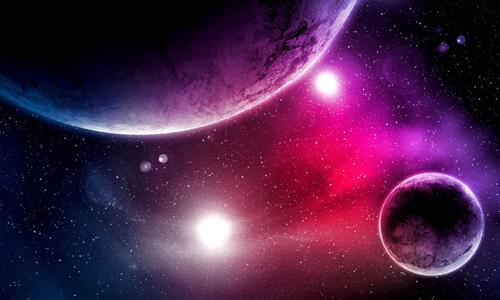Sự tồn tại của vũ trụ đến nay vẫn là một bí ẩn. Ảnh: Daily Express.
