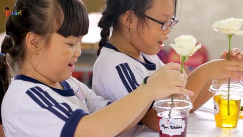 Trẻ tiếp cận khoa học, công nghệ, toán qua những giờ học thực tế