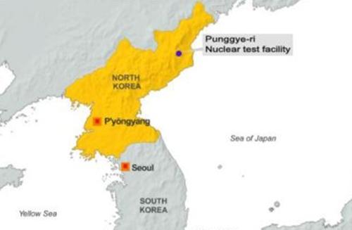 Vị trí bãi thử hạt nhân