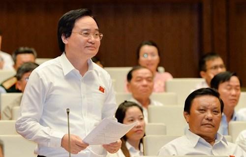 Chính phủ trình Quốc hội lùi thời gian triển khai chương trình phổ thông mới
