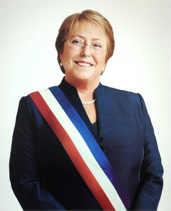 Tổng thống nước Cộng hòa Chile Bà Michelle Bachelet Jeria. Ảnh: Bộ Ngoại giao Việt Nam.