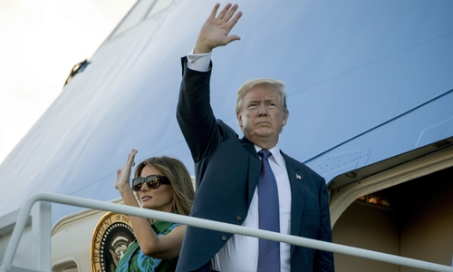 Tổng thống Trump rời Hawaii đến Nhật Bản