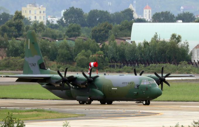 Máy bay quân sự chở xe Tổng thống Hàn Quốc đến Đà Nẵng - Ảnh minh hoạ 3