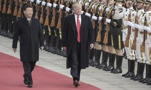"""Trung Quốc chào đón Trump với nhiều nghi thức """"hiếm có"""""""