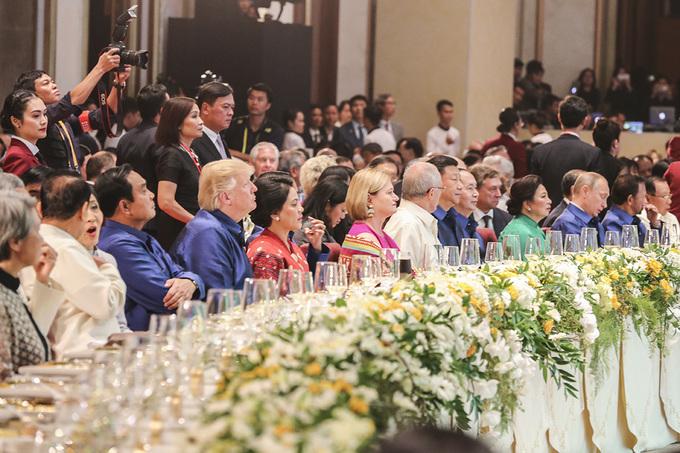 Yến tiệc thết đãi các lãnh đạo APEC tại Đà Nẵng