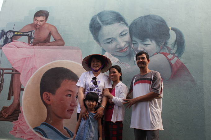 Phu nhân Tổng thống Hàn Quốc thăm làng bích họa Quảng Nam - Ảnh minh hoạ 4