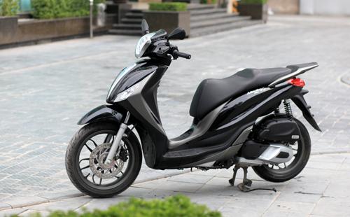 Medley là mẫu xe ga tích hợp nhiều công nghệ nhất từ trước tới nay tại Việt Nam.
