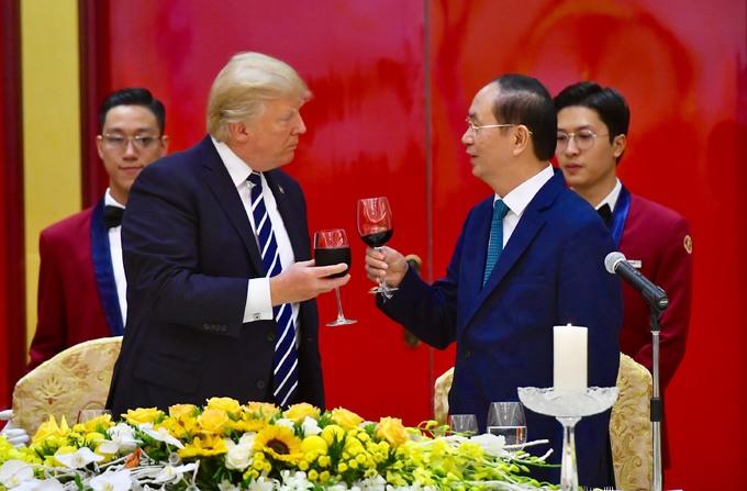 Ba ngày làm việc của Tổng thống Donald Trump ở Việt Nam - Ảnh minh hoạ 15