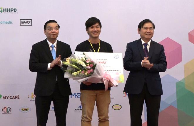 Chàng trai 29 tuổi giành giải nhất Techfest 2017