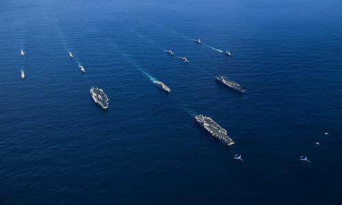 Cái giá Mỹ phải trả khi điều 3 tàu sân bay tới gần Triều Tiên