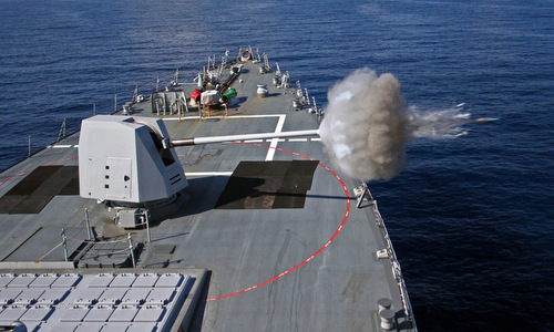 Đạn hồng ngoại thông minh giúp tăng uy lực cho chiến hạm Mỹ