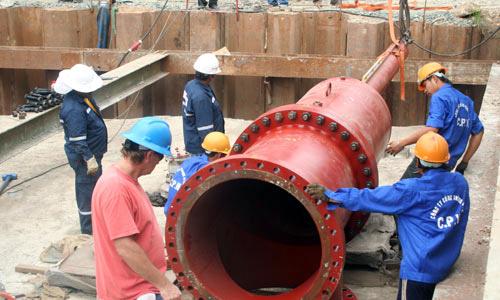 TP HCM làm đường ống khổng lồ 3.400 tỷ dẫn nước về trung tâm