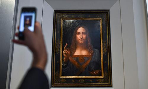 Bức họa của Leonardo da Vinci bán với giá kỷ lục hơn 450 triệu USD