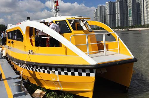Sài Gòn được đi buýt sông miễn phí trong 10 ngày