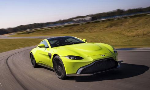 Aston Martin Vantage 2018 - vẻ đẹp hoang dã siêu xe thể thao