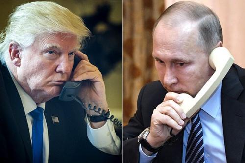 Tổng thống Mỹ Donald Trump và người đồng cấp Nga Vladimir Putin. Ảnh: CNN, Pravda.