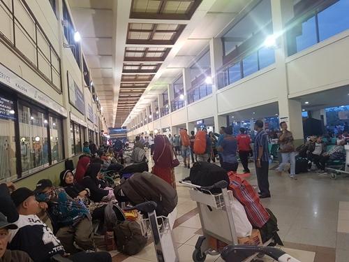 Sân bay Juanda trên đảo Java, Indonesia. Ảnh: Nhân vật cung cấp.