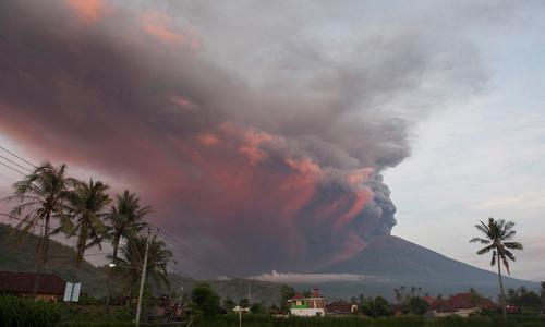 Núi lửa phun trào có khả năng làm giảm nhiệt độ Trái đất