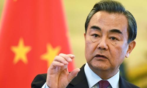 Bộ trưởng Ngoại giao Trung Quốc Vương Nghị. Ảnh: AFP.