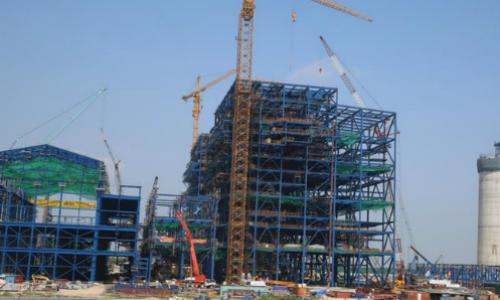 Dự án Nhiệt điện Thái Bình 2 chậm tiến độ 3 năm so với kế hoạch. Ảnh: NLM