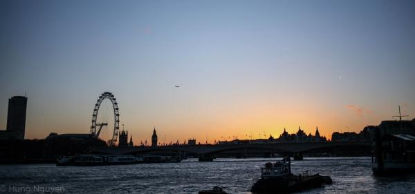 London Tháng 12