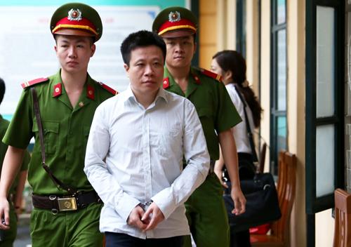 Cựu chủ tịch Oceanbank Hà Văn Thắm.