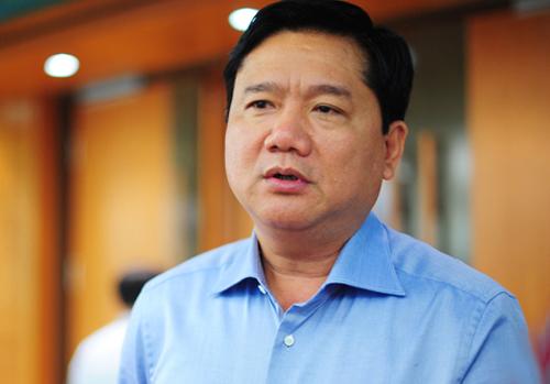 Ông Đinh La Thăng sau khi rời PVN đã làm Bộ trưởng Giao thông, Bí thư Thành ủy TP HCM. Ông bị bắt, khởi tố bị can vào ngày8/12. Ảnh: Xuân Hoa