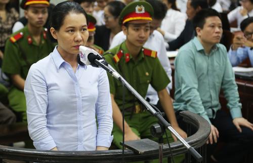 Cựu tổng giám đốc Nguyễn Minh Thu bị phạt 22 năm tù trong bản án tuyên tháng 9.