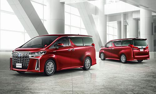 Toyota Alphard phiên bản mới ra mắt tại Nhật Bản từ đầu 2018.