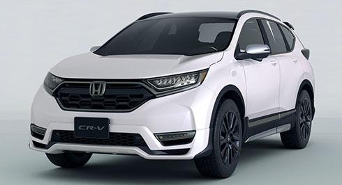 Honda CR-V Custom concept. Ảnh: Carscoops.