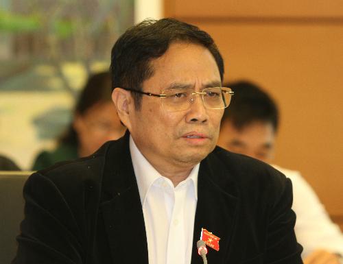 Ông Phạm Minh Chính: Quyền lực giao cho lãnh đạo rất lớn nhưng không được kiểm soát. Ảnh: Xuân Hoa.
