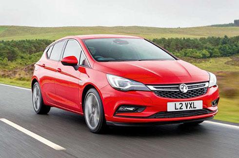 Opel/Vauxhall Astra.