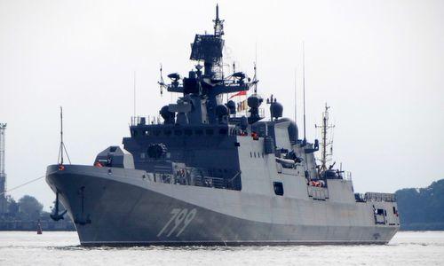 Hải quân Nga nhận thêm một tàu hộ vệ tên lửa hiện đại