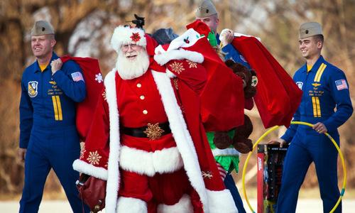 Cách lính Mỹ đón Giáng sinh tại các vùng chiến sự