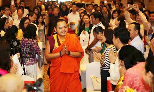 Đức Nhiếp chính vương Gyalwa Dokhampa thăm Việt Nam