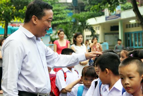 TP HCM đề xuất có chế độ đãi ngộ đặc biệt với nhà giáo. Ảnh: Mạnh Tùng.