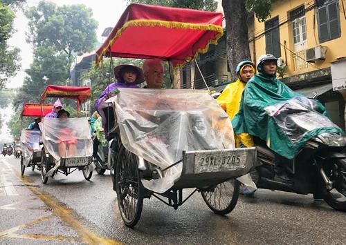 Hà Nội và nhiều tỉnh Bắc Bộ ngày 27/12 có mưa, một số khu vực mưa to, trời rét. Ảnh minh hoạ: Giang Huy.