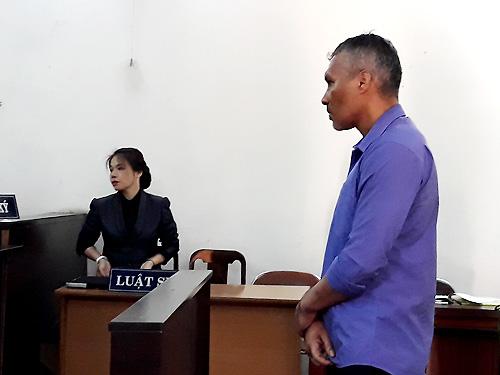 Tại tòa hôm nay,Eduardo thừa nhận hành vi phạm tội của mình và đồng phạm. Ảnh: Hải Duyên.