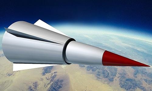 Mô hình thiết kế một thiết bị bay siêu thanh của Trung Quốc. Ảnh: Sputnik.