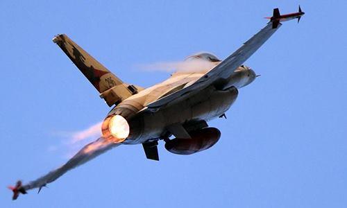 Chiến đấu cơ F-16 của không quân Israel. Ảnh: Reuters.