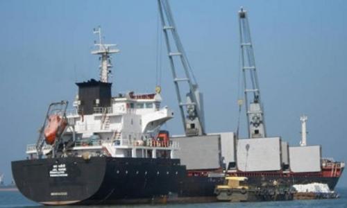 Tàu Petrel 8 mang cờ Comoros nằm trong danh sách trừng phạt của Liên Hợp Quốc vì nghi chở hàng bị cấm, liên quan đến Triều Tiên. Ảnh: Vessel Finder.