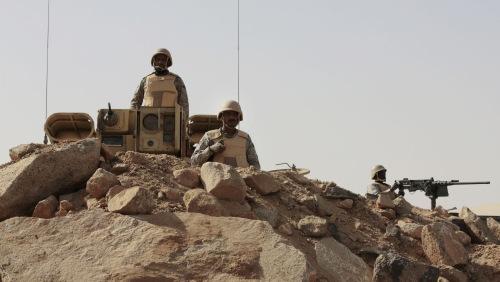 Binh sĩ Arab Saudi tham chiến tại Yemen. Ảnh: AFP.