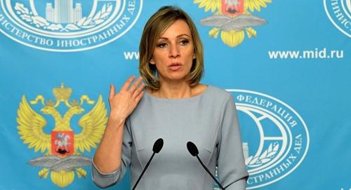 Người phát ngôn Bộ Ngoại giao Nga.