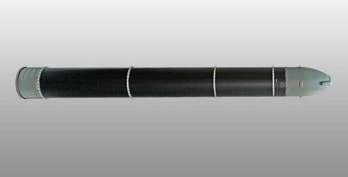 Hình dáng cơ bản của tên lửa Sarmat. Ảnh: Sputnik.