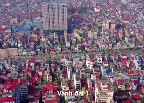 Tuyến đường vanh đai 1 đi qua các khu vực trung tâm, đông dân cư nên mỗi lần Hà Nội xây dựng một đoạn đường lại tạo ra kỷ lục về chi phí xây dựng. Ảnh minh hoạ: Bá Đô.