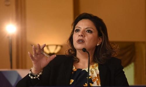 Ngoại trưởng Guatemala Sandra Jovel. Ảnh: AFP.